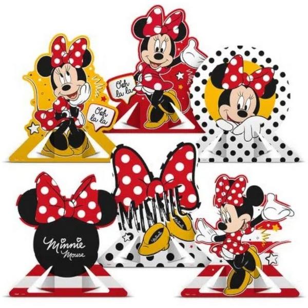 Decoração De Mesa Minnie - Regina