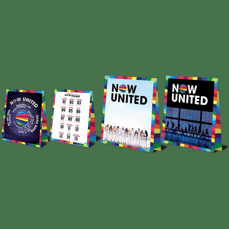 Decoração de Mesa Now United c/4 - Festcolor