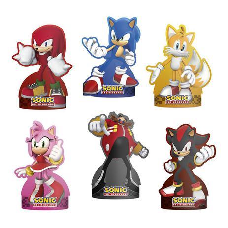 Decoração de Mesa Sonic c/6 - Regina