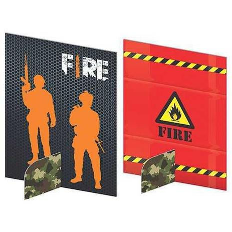 Enfeite de Mesa Free Fire c/5 - Junco