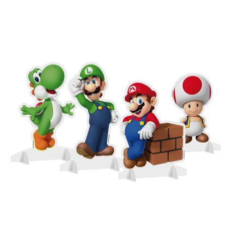 Enfeite de Mesa Super Mario c/4 - Cromus