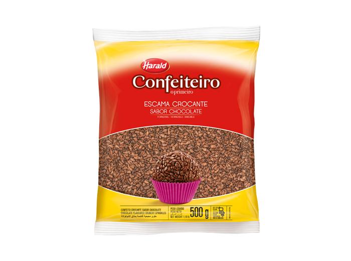 Escama Crocante Sabor Chocolate - Harald