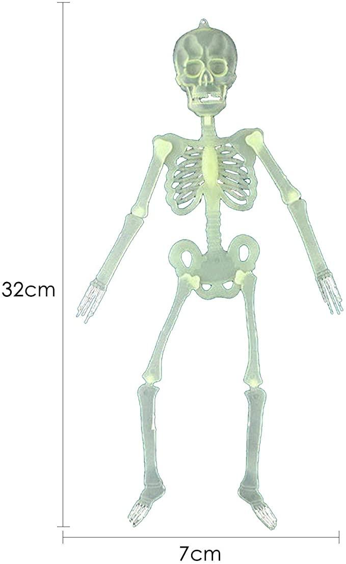 Esqueleto Fluorescente 32cm - YDH