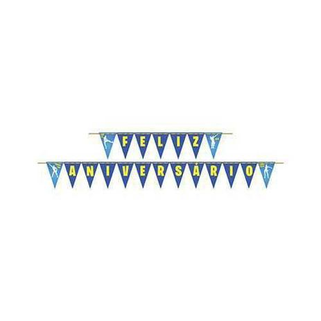 Faixa Feliz Aniversário Battle Royale - Junco