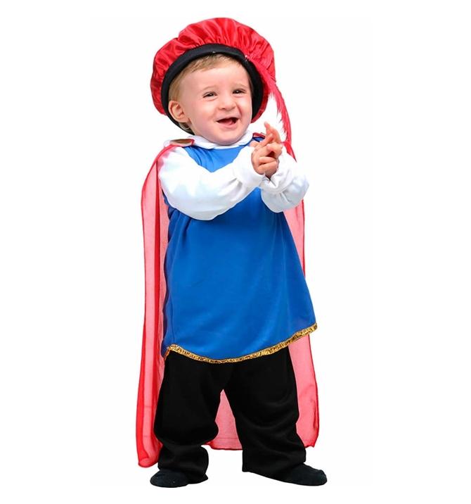 Fantasia Bebê Príncipe P - Sulamericana