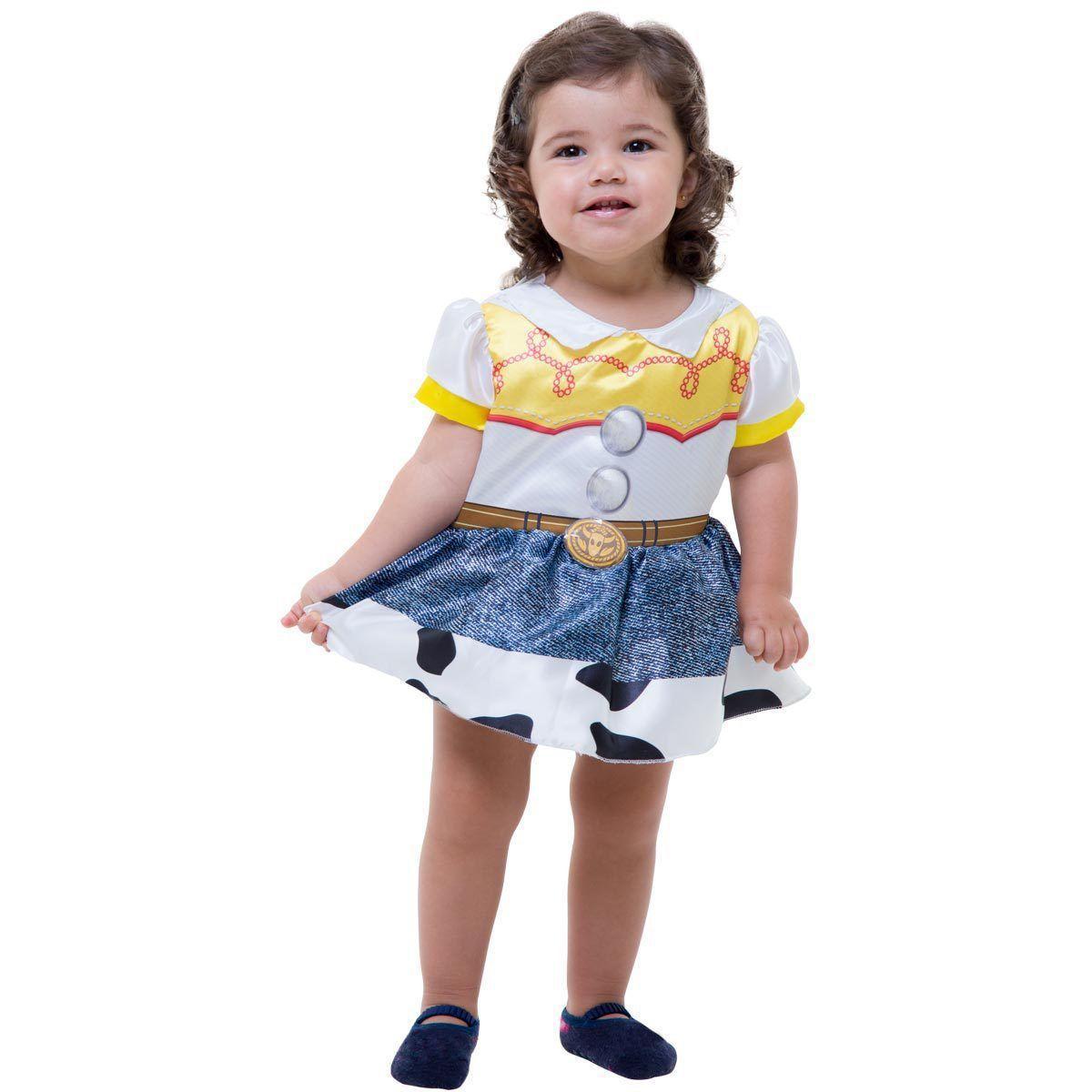 Fantasia Feminina Baby Toy Story Tam. Único - Regina