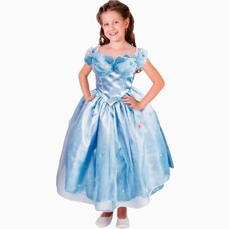 Fantasia Infantil Cinderella M - Rubies