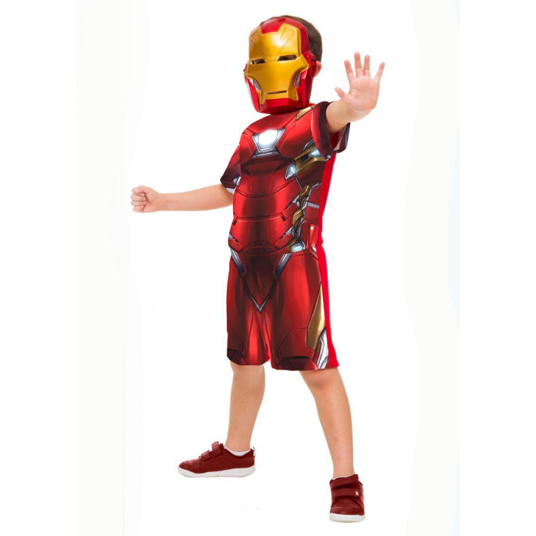 Fantasia Iron Man Curta P - Rubies