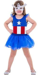 Fantasia Pop Heroína Avengers P - Global