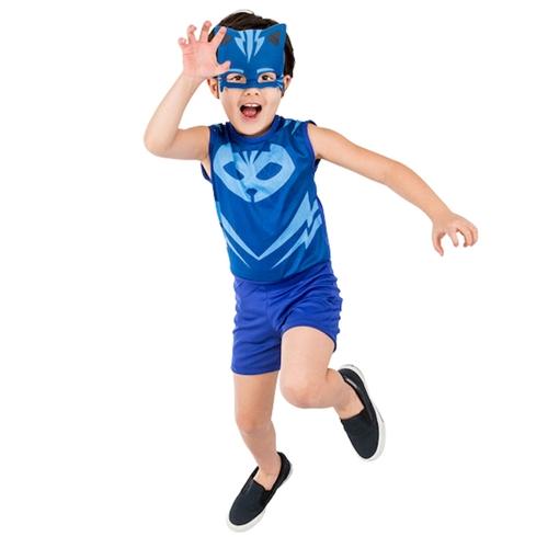 Fantasia Pop Menino Gato PJ Masks M - Regina