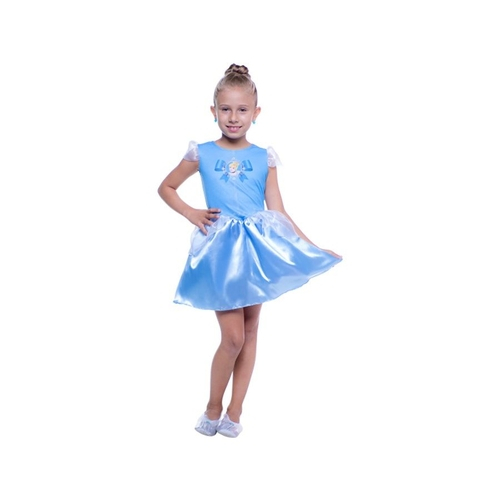 Fantasia Princesa Cinderela Pop P - Regina