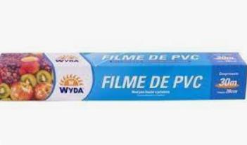 Filme De Pvc 28cm X 30m - Wyda