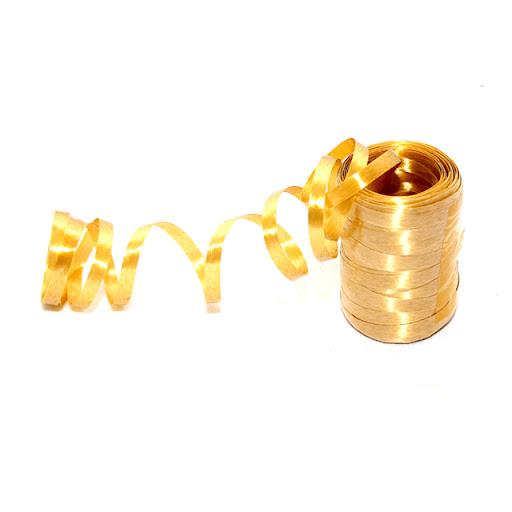 Fitilho Plástico 50m Ouro