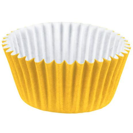 Forminha p/Doce Amarelo N4 c/100 - Junco