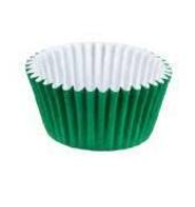Forminha p/Doce Verde Bandeira N4 c/100 - Junco