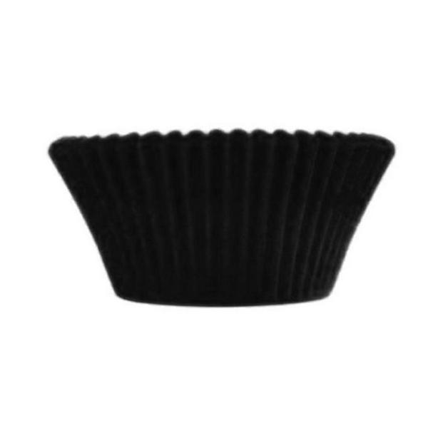 Forminha p/Mini Cupcake Preta c/54 - Ultrafest