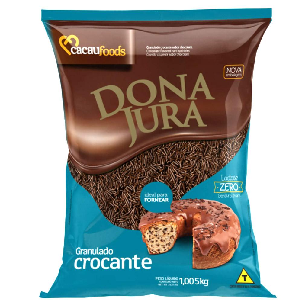 Granulado Chocolate Crocante 1,005 kg - Dona Jura