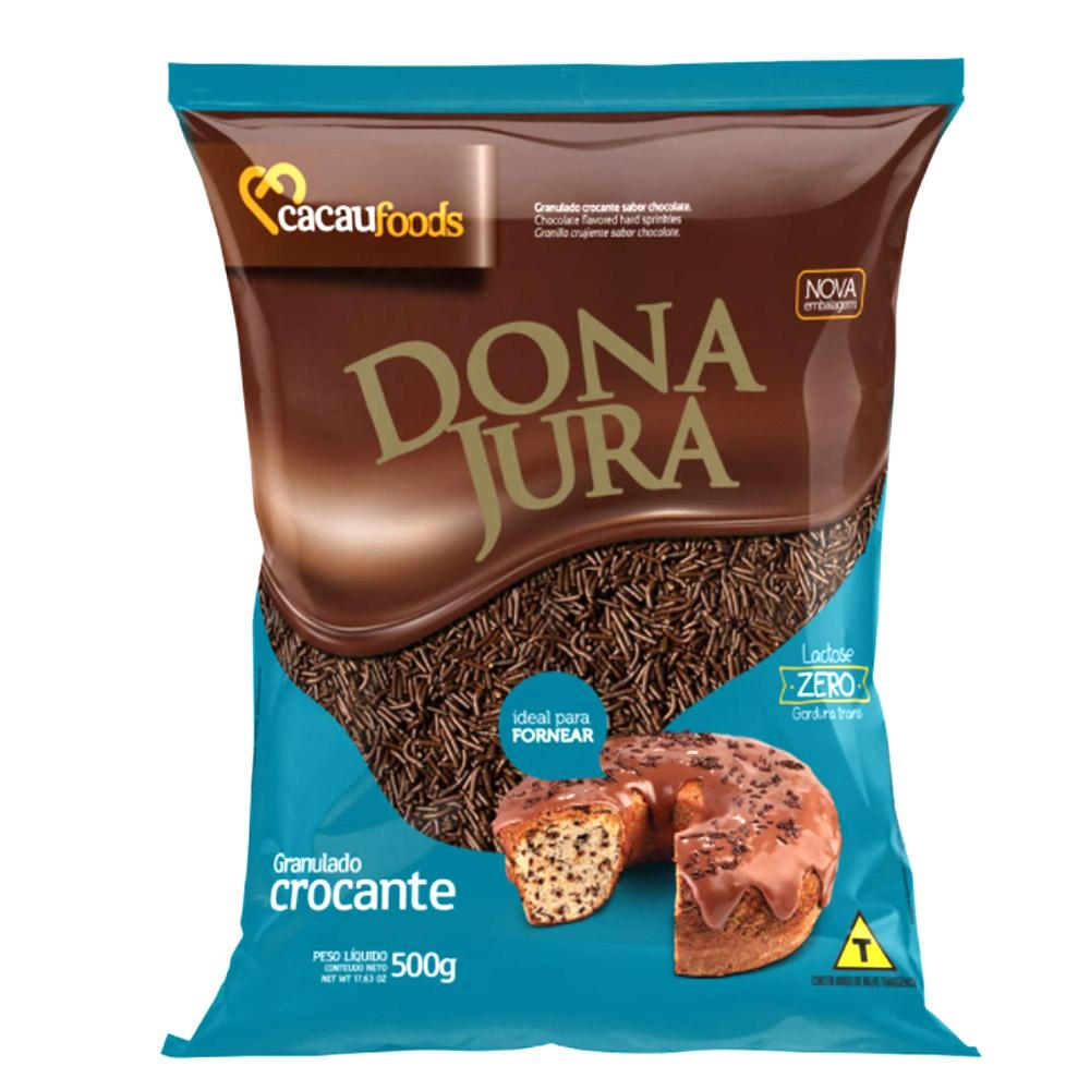 Granulado Chocolate Crocante 500g - Dona Jura