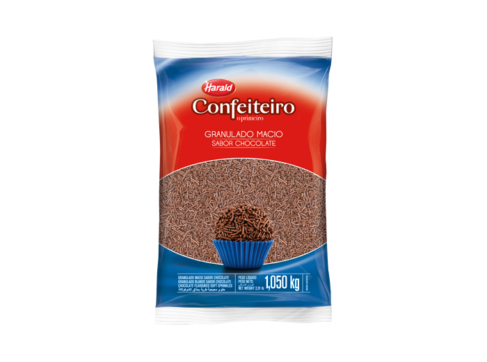 Granulado Macio Chocolate 500g - Harald