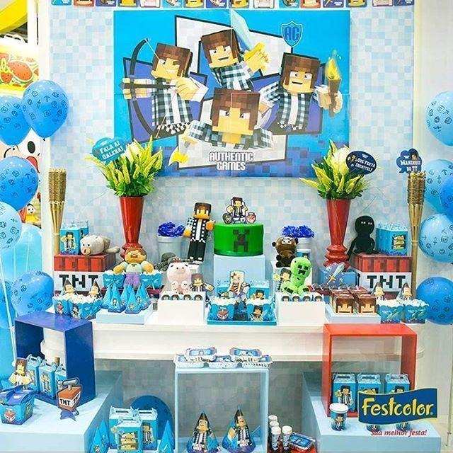 Kit Authentic Games p/ Festa