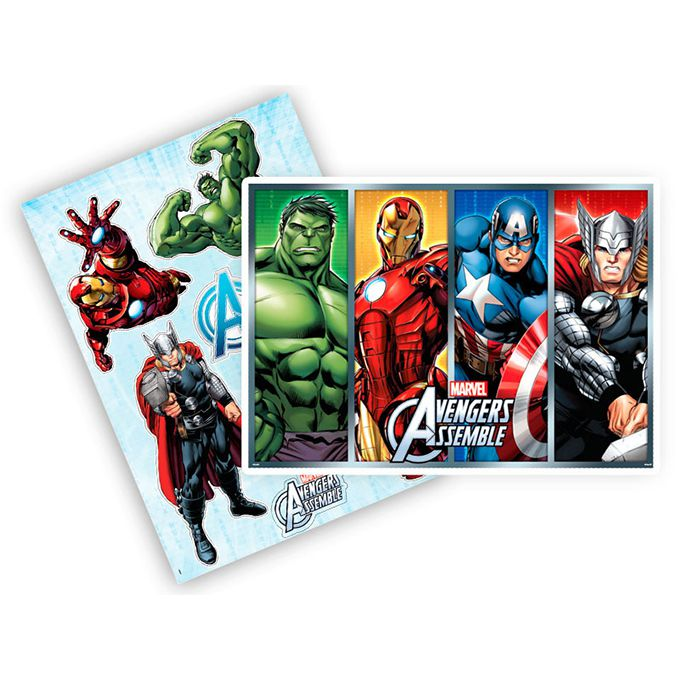 Kit Decorativo Avengers - Regina