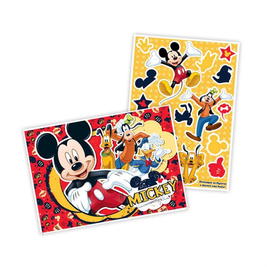 Kit Decorativo Mickey - Regina