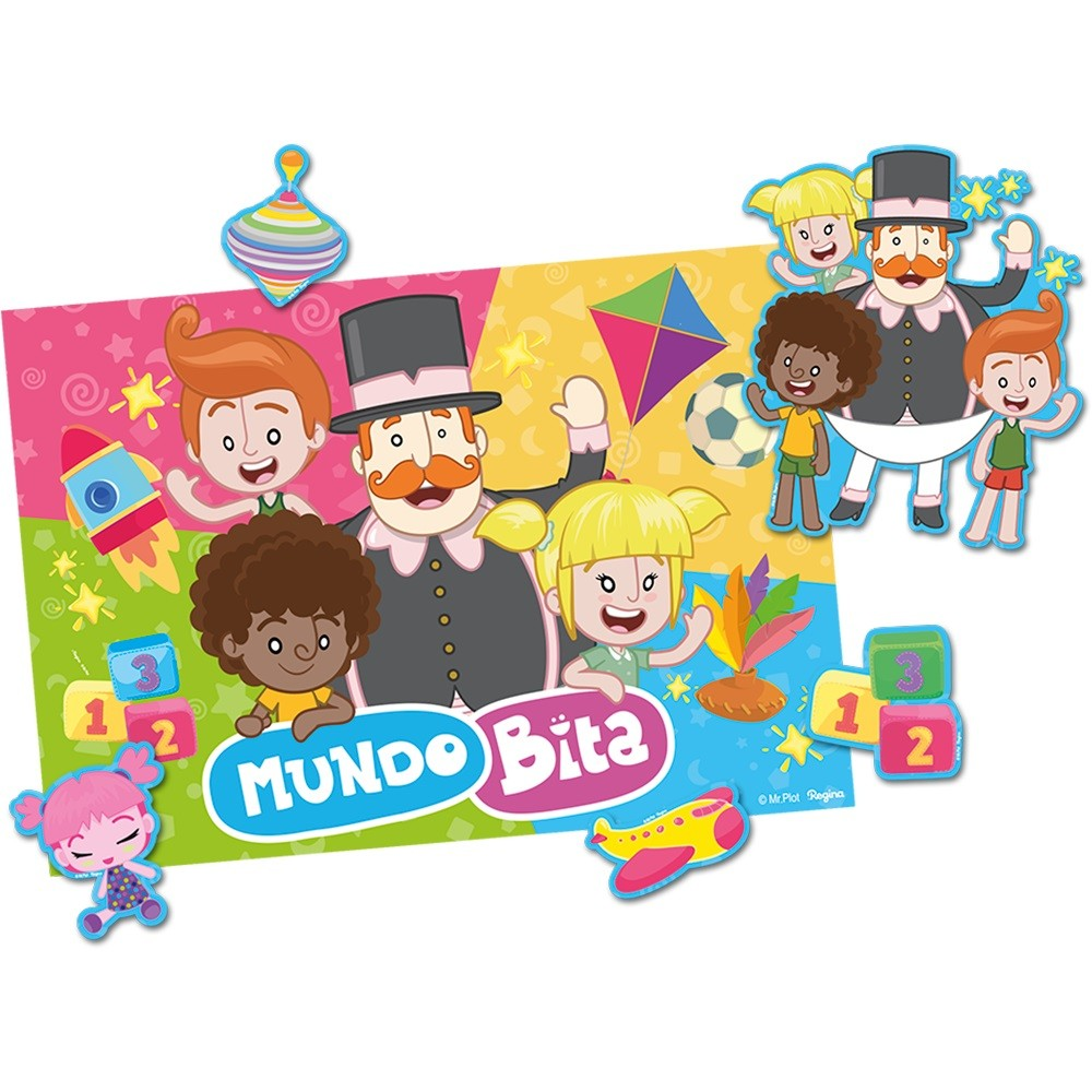 Kit Decorativo Mundo Bita - Regina