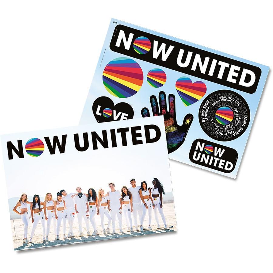 Kit Decorativo Now United 64x45cm - Festcolor