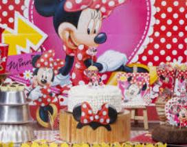 Kit Minnie p/ Festa