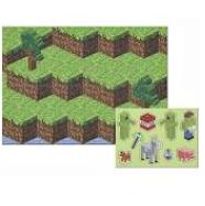 Kit Painel Gigante De Parede Mini Pixels - Junco