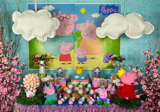 Kit Peppa Pig p/ Festa