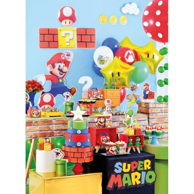 Kit Super Mario p/ Festa
