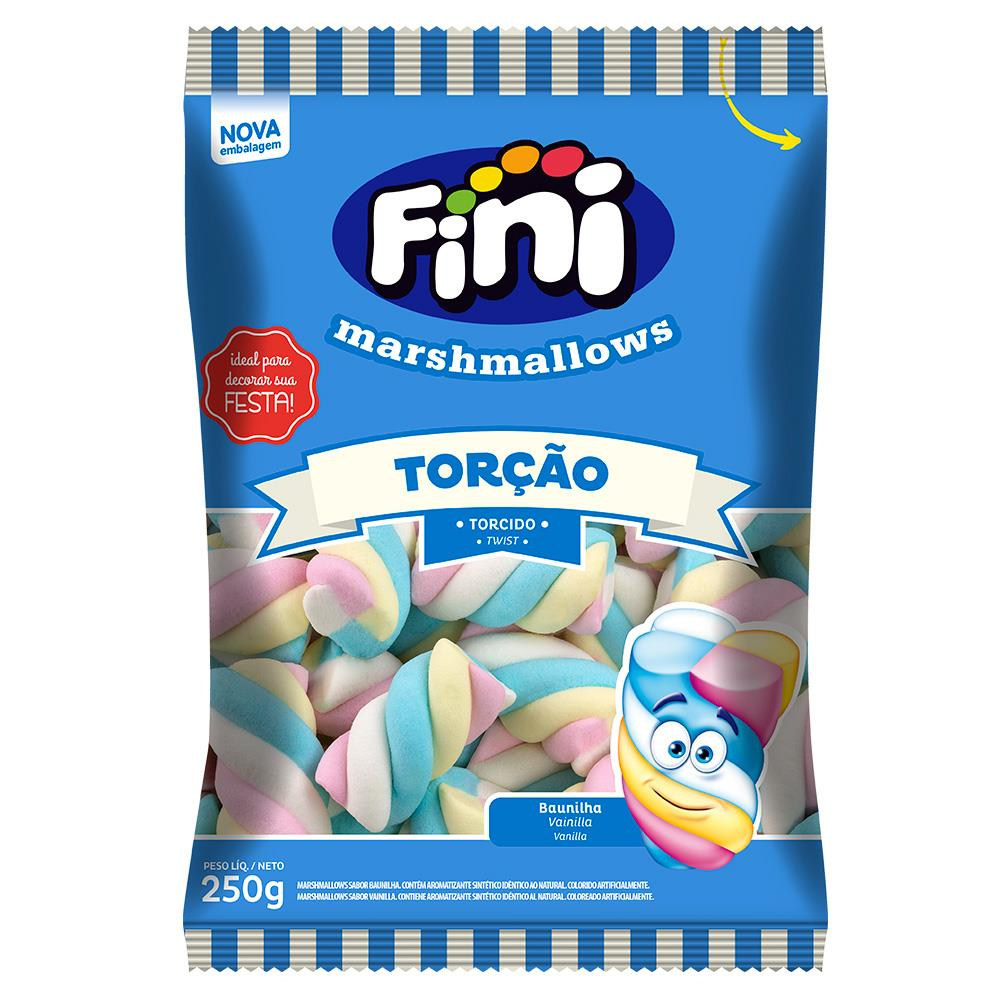 Marshmallow Torção 250g - Fini