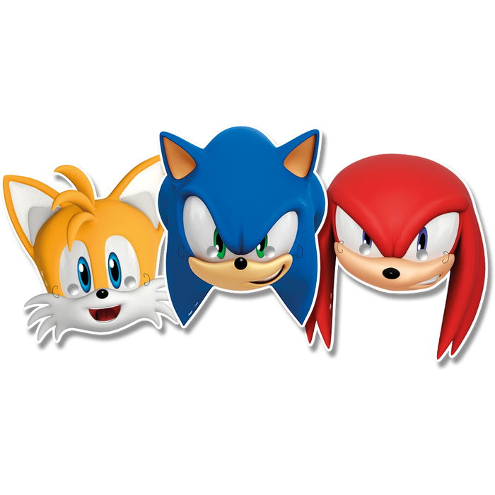 Máscara Sonic c/6 - Regina