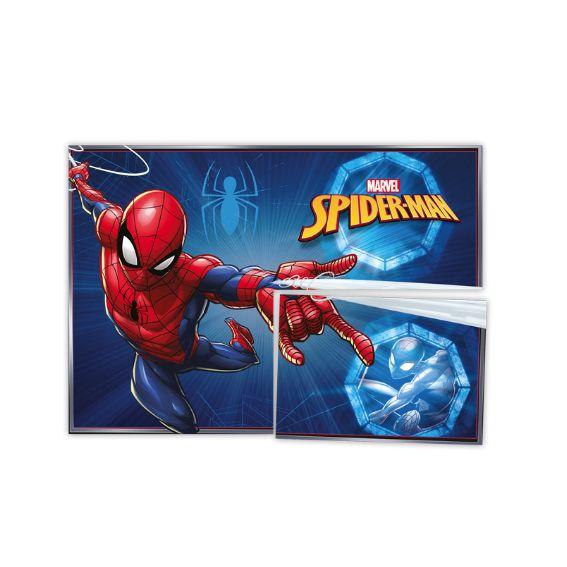 Painel 4 Laminas Decorativo Spider Man - Regina