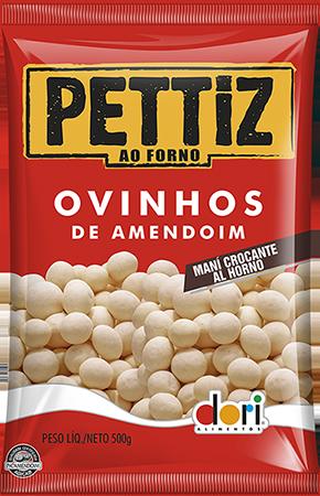 Pettiz Ovinhos de Amendoim ao Forno 500g - Dori