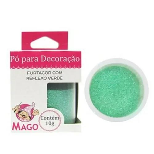 Pó Para Decoração 10g Furtacor c/ Reflexo Verde - Mago