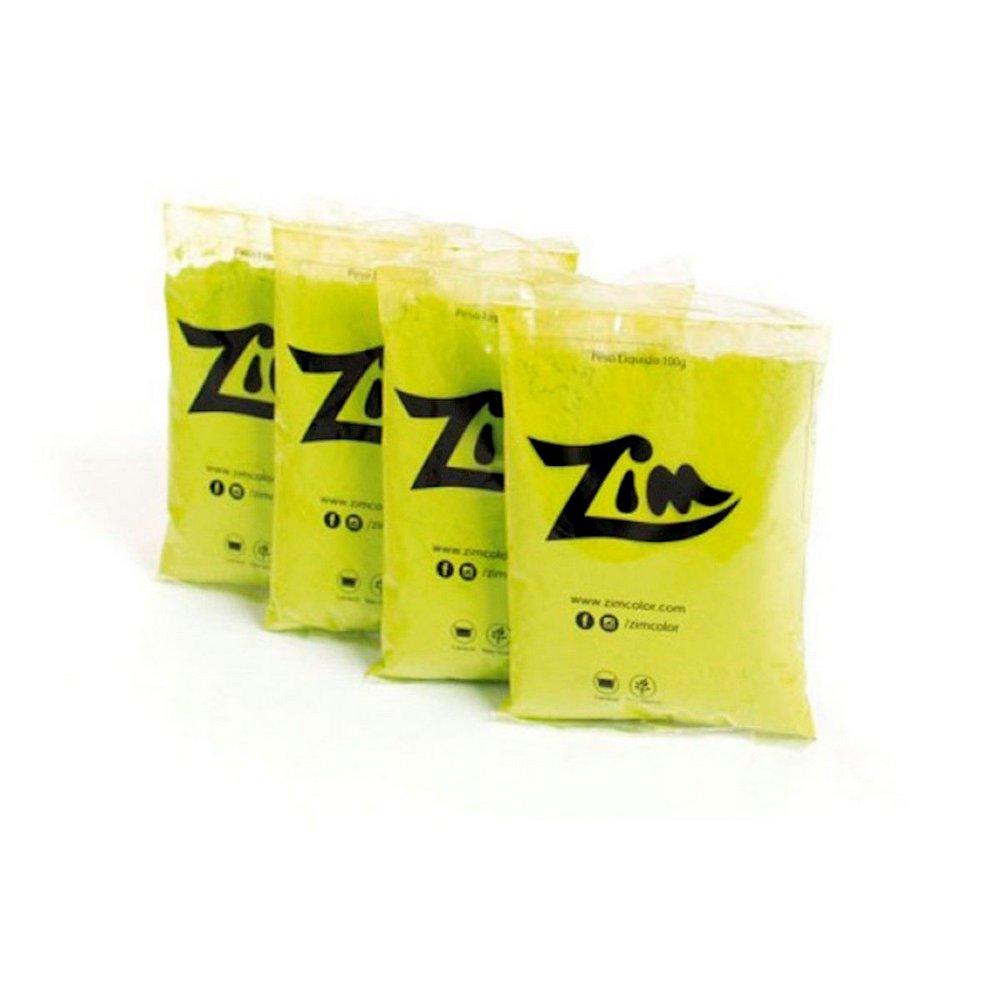 Pó Zim Color Verde Limão 100g