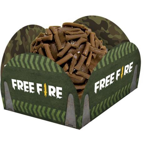 Porta Forminha Free Fire c/40 - Festcolor