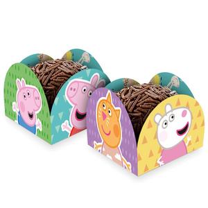 Porta Forminha Peppa Pig c/50 - Regina