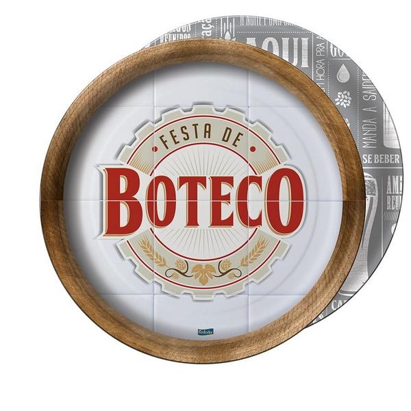 Prato 18cm Festa De Boteco c/8 - Festcolor