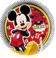 Prato 18cm Mickey c/12 - Regina
