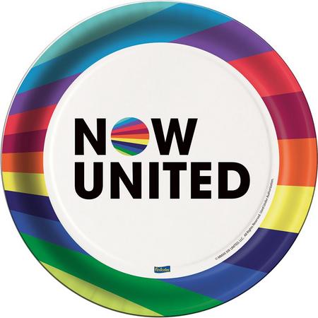 Prato 18cm Now United c/8 - Festcolor