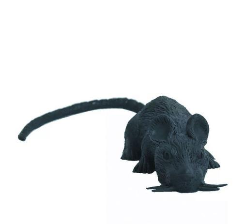 Rato Decorativo Preto - Brasilflex