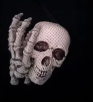 Saco de Ossos Decorativo Para Halloween - Matsumoto
