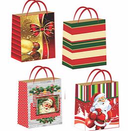 Sacola Natal Kraft GG (Modelos Sortidos) - Mf Embalagens
