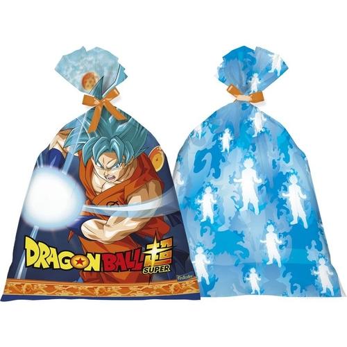Sacola Plástica Dragon Ball c/8 - Festcolor