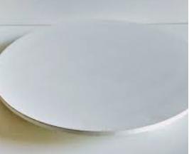 Tabuleiro Redondo para Bolo 30cm Branco 6mm - ADT