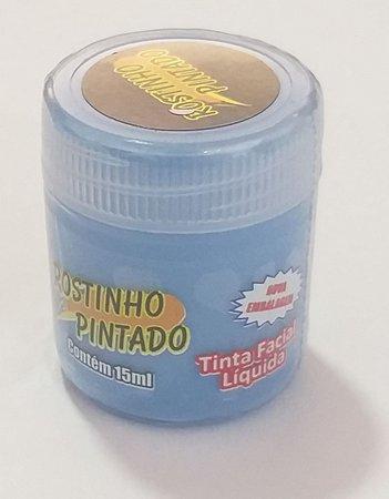 Tinta Facial 15ml Azul - Rostinho Pintado