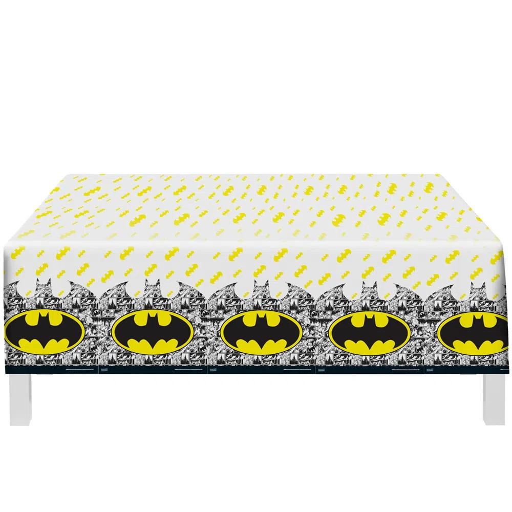 Toalha De Mesa Batman 1,20m X 1,80m - Festcolor